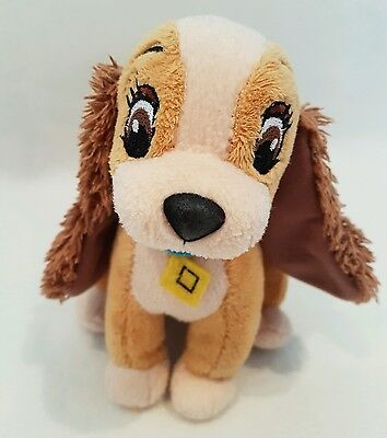 Lady and the tramp plush Disney soft toy