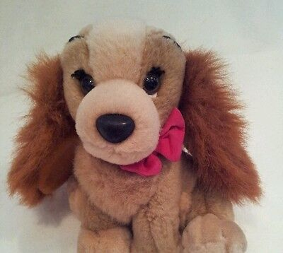"""lady and the tramp plush soft toy disney 8"""""""