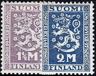 Finland 1927 10th Anniversary of Independence Set MH