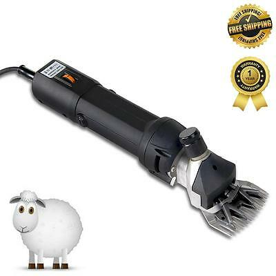 New 380W Electric SHEEP SHEARING CLIPPER Shear Goats Supplies Alpaca Farm Shears