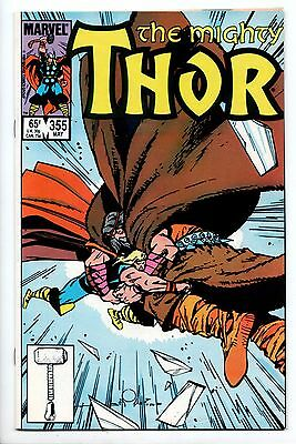 Thor #355 - The Icy Hearts (Marvel, 1985) - FN-