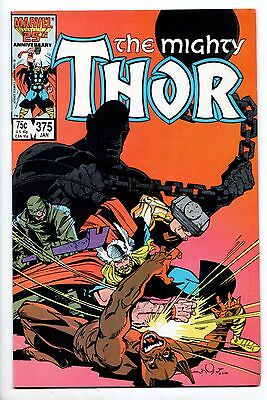 Thor #375 - Shadows of the Past (Marvel, 1987) - FN/VF