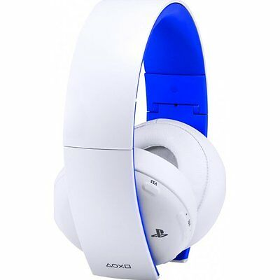 Genuine Sony Wireless Stereo Headset 2.0 White PlayStation 4 PS4 New Aus Stock