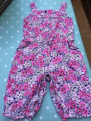 MONSOON - FLORAL ROMPER SUIT All-in-one BABY MONSOON Age 6-12 m