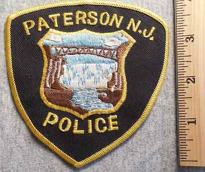 Paterson New Jersey Police Patch (Highway Patrol, Sheriff, State)