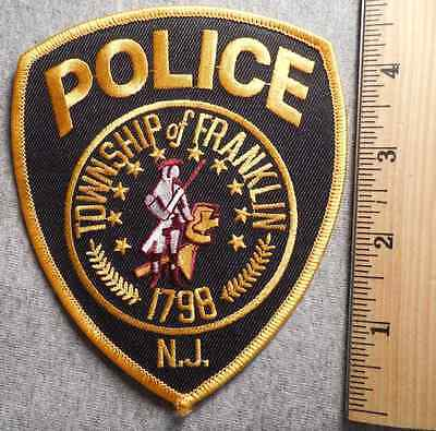 Franklin New Jersey Police Patch (Highway Patrol, Sheriff, Ems)