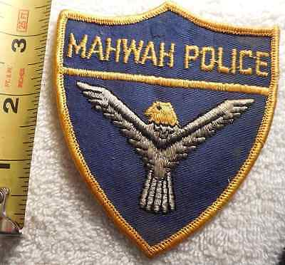 Mahwah New Jersey Police Patch (Highway Patrol, Sheriff, State)