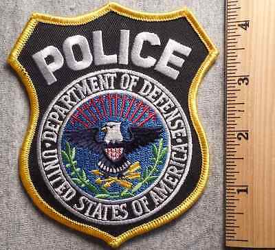 Department Of Defense Police Patch (Highway Patrol, Sheriff, Ems)