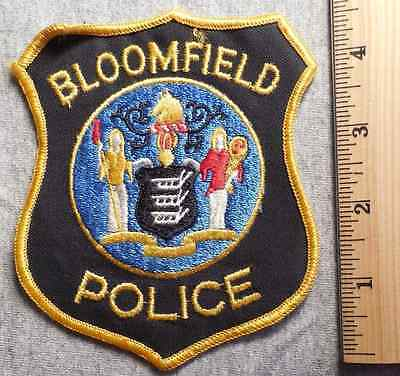 Bloomfield New Jersey Police Patch (Highway Patrol, Sheriff, Ems, State)