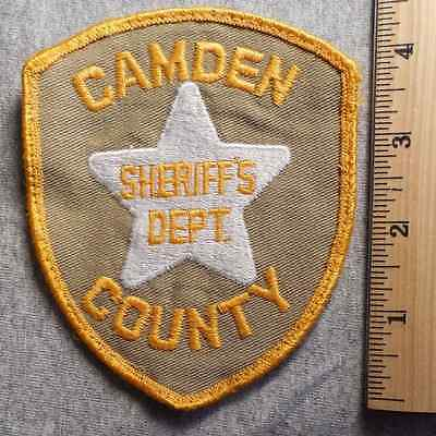 Camden County New Jersey Sheriff Patch (Highway Patrol, Sheriff, Ems, State)