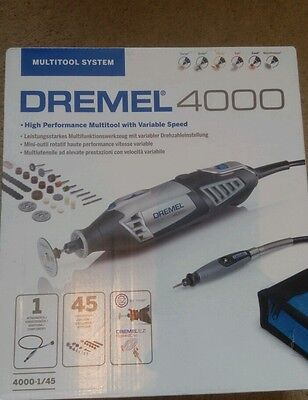 Dremel 4000 High Performance Multi Tool and accessories. New and Boxed. Freepost