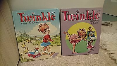 Twinkle children's annuals - 1977 and 1979