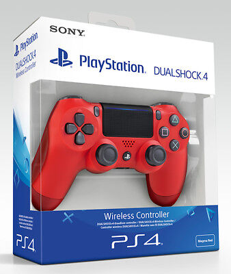 Playstation 4 PS4 Controller Wireless Dualshock 4 V2 Red (2016) Sony