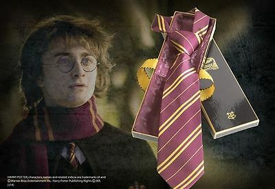 Harry Potter Cravatta Grifondoro - Gryffindor House Tie Deluxe NOBLE COLLECTIONS