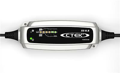 CTEK XS 0.8 12V Motorbike & ATV Car Battery Smart Charger & Conditioner UK NEW
