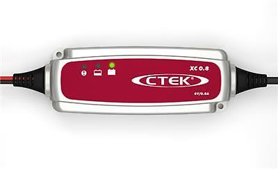 CTEK XC 0.8 Smart Battery Charger 6v 0.8A 4 Stage Charger UK Supplier NEW