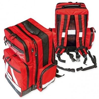 First Aid Emergency backpack, emergency backpack ''Water Stop'' empty, red large