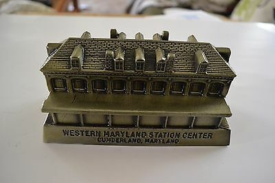 Western Maryland Station Center Coin Bank Railroad diecast