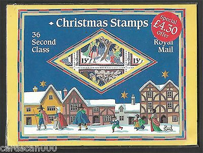 GB Christmas 1986 Special Pack, 36 x 2nd class stamps, mint condition