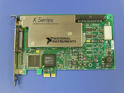 National Instruments PCIe-6351 NI DAQ Card, X-Series, Multifunction
