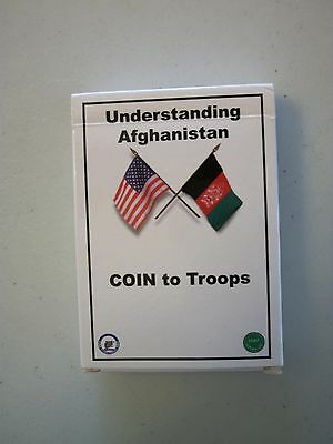 Understanding Afghanistan COIN to Troops Playing Cards ISAF USFOR Op Enduring FR