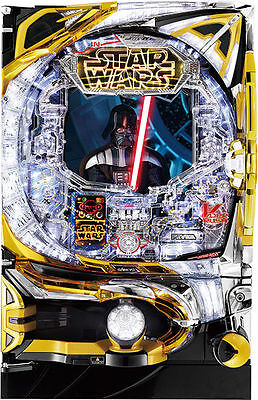 "STAR WARS 3D Pachinko Pinball Machine ""BATTLE OF VADER"" 2015 - 500 balls free !"