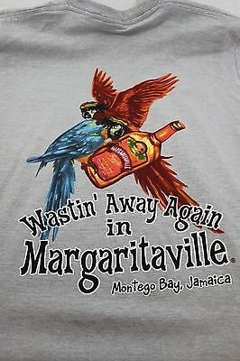 Large gray Jimmy Buffet's Margaritaville shirt Montego Bay Jamaica