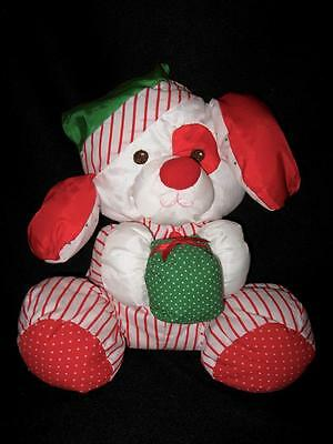 Vintage Fisher Price Puffalump Christmas Puppy Dog 1991 ~ Excellent Condition!