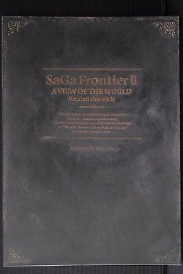 JAPAN SaGa Frontier 2 Material Collection Sandail chronicle (Book)