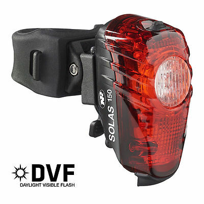 NIB FREE Ship Niterider Solas 150 LED RED Tail Light USB Rechargeable 5085