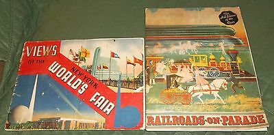 Lot VIEWS of the 1939 NEW YORK WORLD'S FAIR & RAILROADS ON PARADE Eastern RR and
