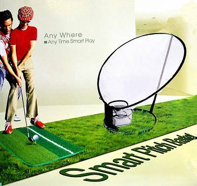 New Golf Pop Up Target Practice Chipping Net Smart Pitch Netting Basket (#001)