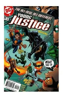Young Justice #21 (Jul 2000, DC) FN COMIC BOOK