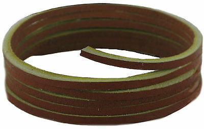 Shoe and Boot Laces -Light Brown leather