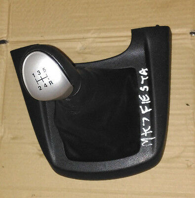 Ford Fiesta  2008 - 2012  Mk7 Mk8 Gear Knob And Gaitor 5 Speed