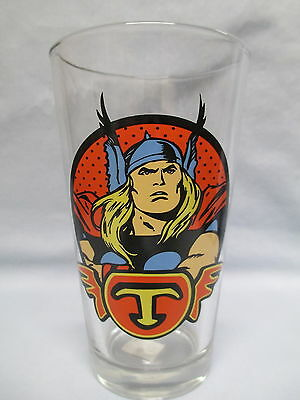 The Mighty Thor ~ Head ~Of the Avengers ~  New Drinking Glass by ICUP