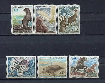 s12387) MONACO MNH** 1970, Wildlife protection 6v
