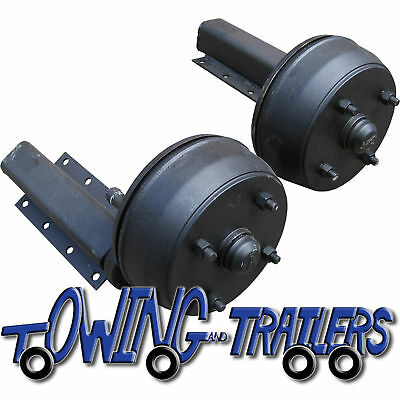 1500kg Avonride braked trailer suspension units Indespension units 4 stud 5.5