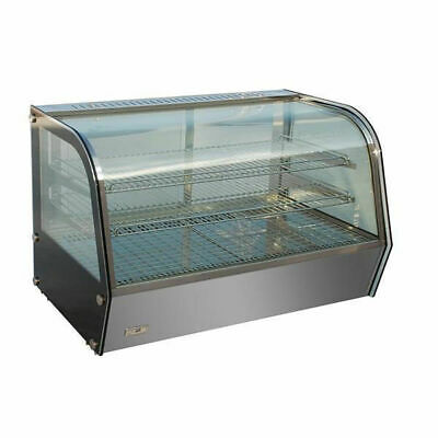 Heated Countertop Display 120L, Hot Food Presentation Unit, Commercial Equipment