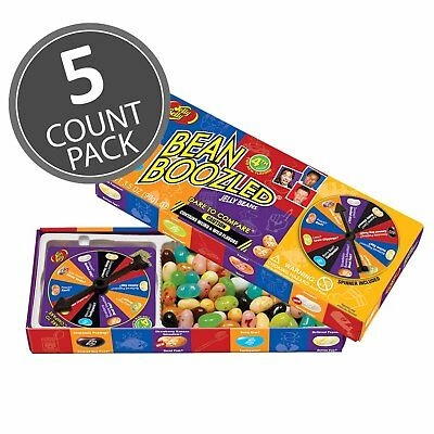 Jelly Belly BeanBoozled Spinner Jelly Bean Gift Box Game, 4th edition 5 Packs!