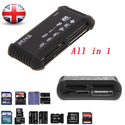 All-in-1 USB 2.0 Compact Flash Multi Memory Card Reader Adapter MicroSD XD Gift