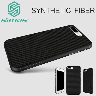 100% Nillkin Synthetic Carbon Fiber Slim Back Case Cover For iPhone Xs Max XR 8+
