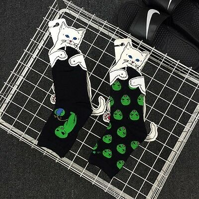 Nermal Cat Alien High Socks RIPNDIP rip n d Skateboard
