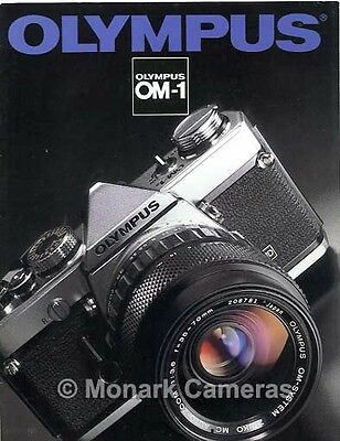 1982 Olympus OM-1n Camera, Lens & Accessory System Brochure OM1n. Others Listed