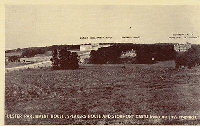 BELFAST ( Ireland)  :Ulster Parliemant House ,Speakers House and Stormont Castle