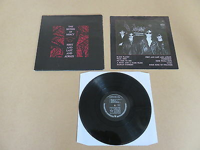 THE SISTERS OF MERCY First And Last And Always LP RARE GATEFOLD 1ST PRESSING