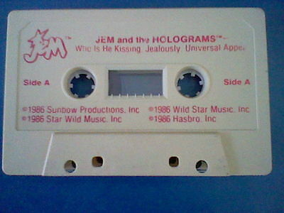 JEM 1986 Jem and The Holgrams cassette tape Hasbro from MAIL IN OFFER
