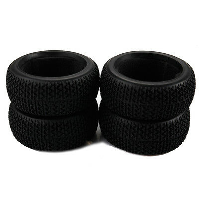 4× Off Road Buggy Car RC Tires Tyres for HSP HPI REDCAT HIMOTO 1/8 Scale Car A8B