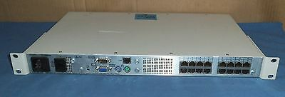 AVOCENT Autoview 1000R 16 Port KVM over IP Console Switch 520-300-001 CAT 5