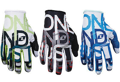 MENS ONE INDUSTRIES ZERO ONEID MOTOCROSS MX GLOVES new gants quad bike bmx mtb